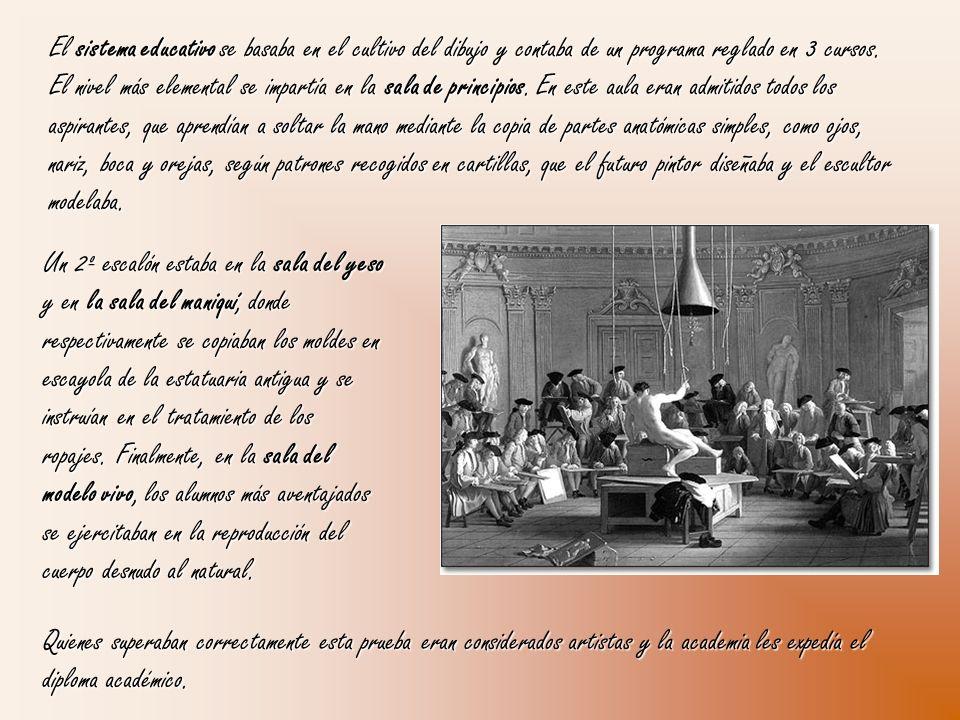 Pero la sordera y el destierro que sufren sus amigos ilustrados, al creer la Monarquía que iban a perpetrar en España la abolición del Antiguo Régimen como habían hecho los revolucionarios en Francia, marcan un antes y un después en la obra de Goya.