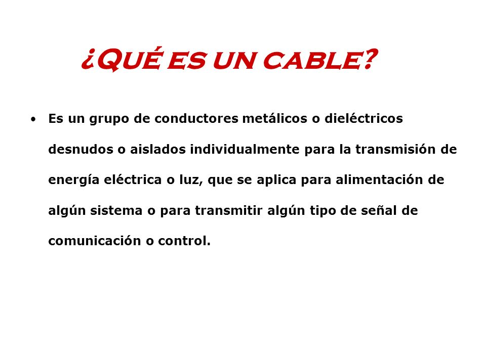 Los cables de cobre más comunes en cableado estructurado son: UTP, Unshlelded Twisted Pair FTP, Foil Twisted Pair (También llamado ScTP, Screened Twisted Pair) STP, Shielded Twisted Pair SSTP, Shielded Shielded Twisted Pair En todos los casos se trata de 4 pares Calibre, 24 AWG, 100 o 150 Ohms de impedancia