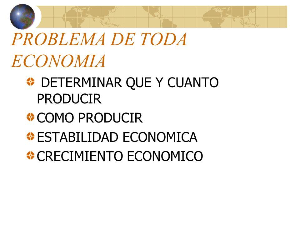 PRINCIPIO DE ESCASEZ Y ELECCIÓN ECONÓMICA La disponibilidad de bienes y servicios es limitada porque los recursos utilizados para producirlos son esca
