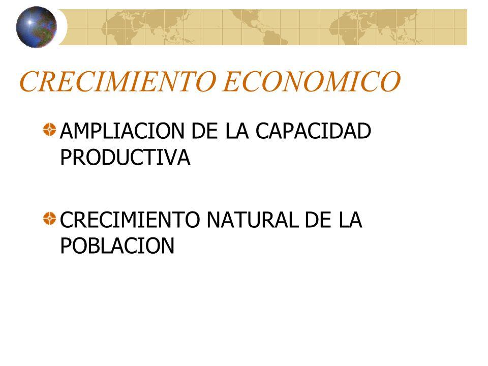ESTABILIDAD ECONOMICA SATISFACCION DE LAS NECESIDADES MANTENIMIENTO DE UN PROCESO PRODUCTIVO