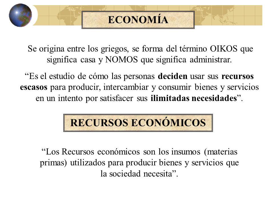 El Objeto de la Ciencia Económica Los esfuerzos que realiza el hombre para satisfacer unas necesidades ilimitadas y en constante crecimiento con unos