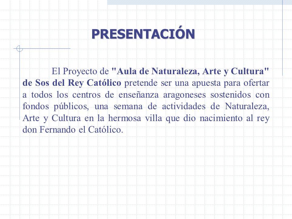 PRESENTACIÓN PRESENTACIÓN El Proyecto de