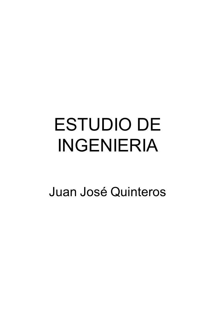 ESTUDIO DE INGENIERIA Juan José Quinteros