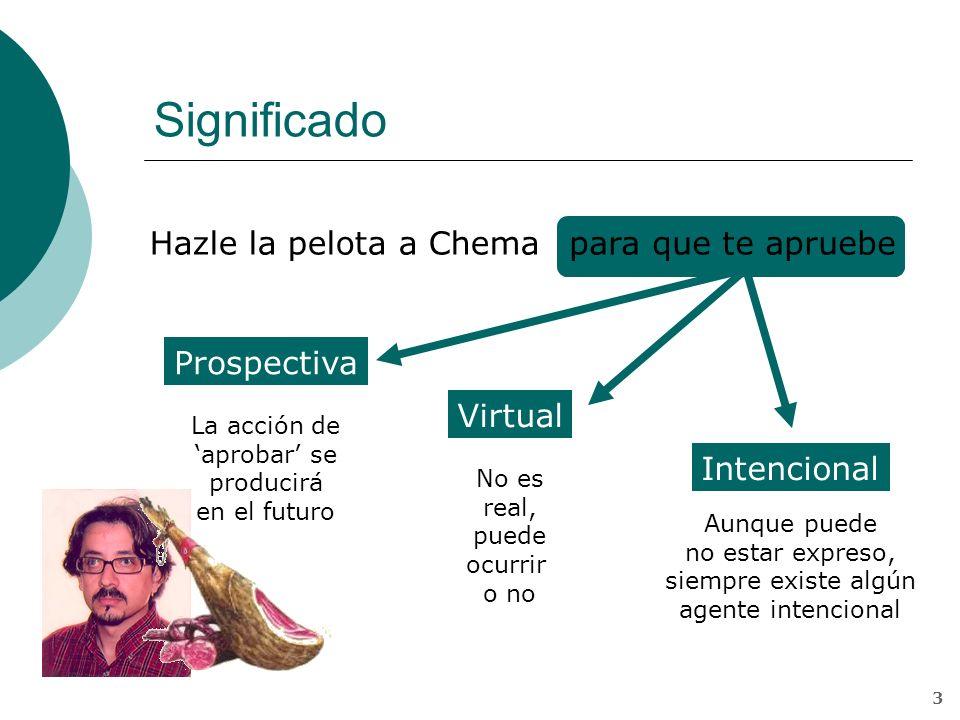 José M del Águila 2 Subordinadas finales La causalidad en estas oraciones se combina con tres notas semánticas: intencionalidad, prospectividad y virt