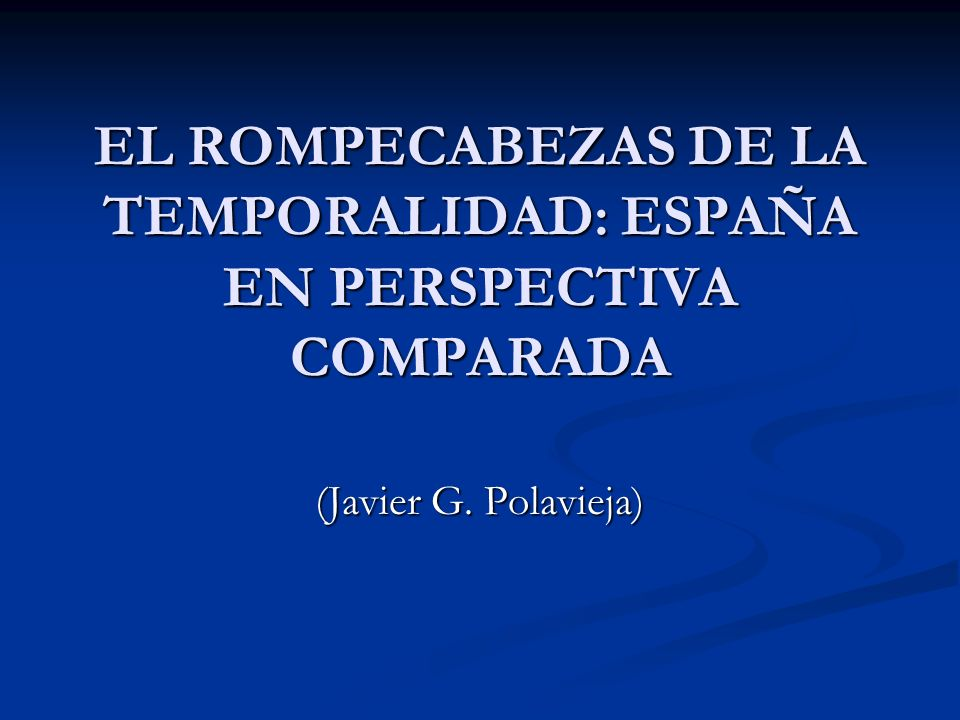SOBRE TEMPORALIDAD Las explicaciones que siempre se han dado para la alta temporalidad en España se centran en argumentar que es reflejo de una determinada estructura productiva.