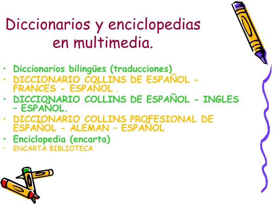 Diccionarios y enciclopedias en multimedia. Diccionarios bilingües (traducciones) DICCIONARIO COLLINS DE ESPAÑOL - FRANCES - ESPAÑOL. DICCIONARIO COLL