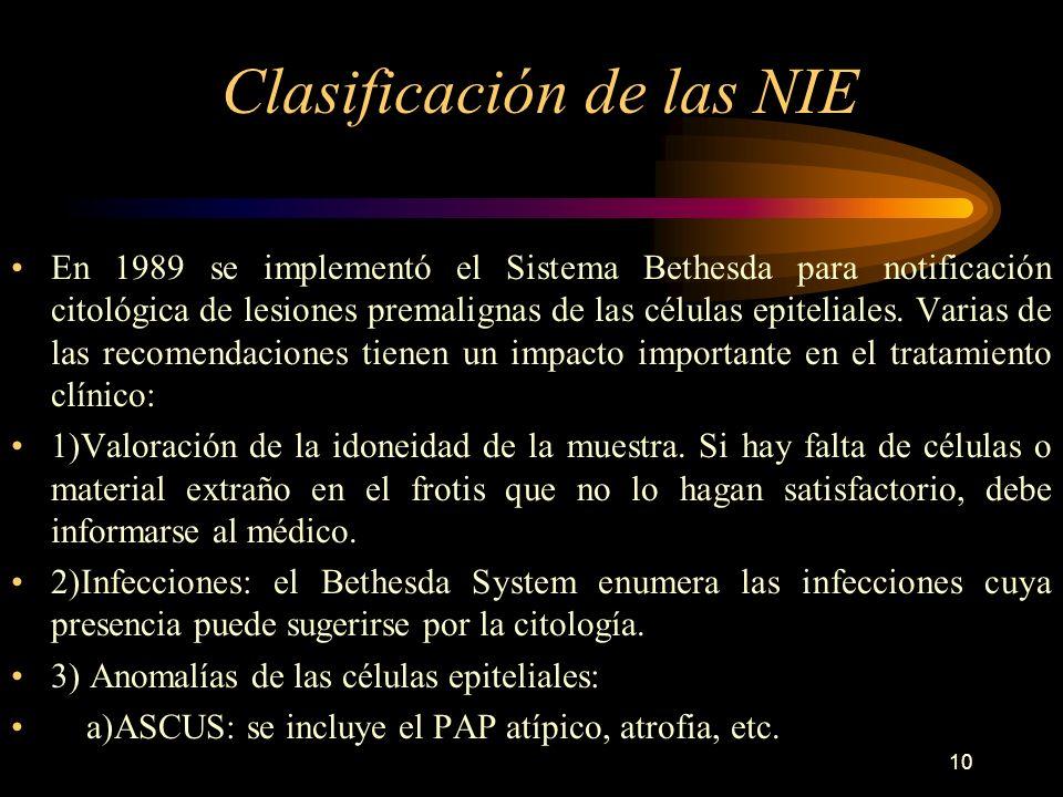 9 Citología de Papanicolau es un mecanismo de detección selectiva debe iniciarse junto con el inicio de la vida sexual o desde los 18 años. El grupo d