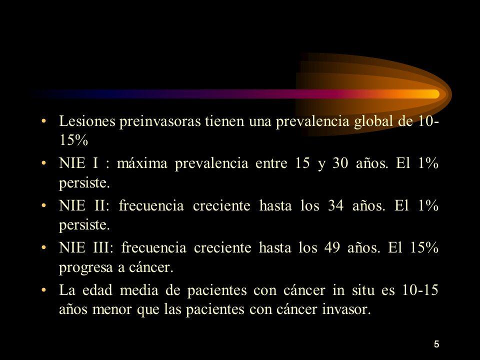 4 Chile es el tercer país de América con alta tasa de mortalidad por CaCU, esta tasa es de 13.7 por 100.000 mujeres. El CaCU ocupa el tercer lugar de