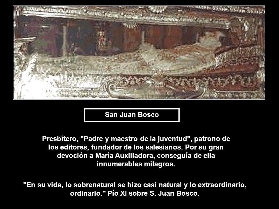 San Juan Bosco Presbítero,