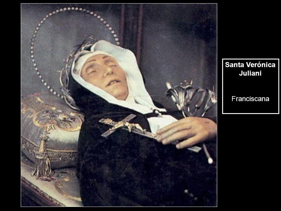 Santa Verónica Juliani Franciscana