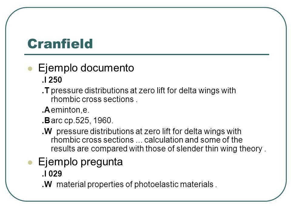 Cranfield Ejemplo documento.I 250.Tpressure distributions at zero lift for delta wings with rhombic cross sections..Aeminton,e..Barc cp.525, 1960..Wpr