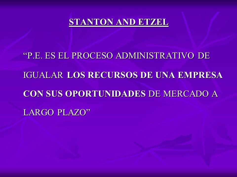 STANTON AND ETZEL P.E.