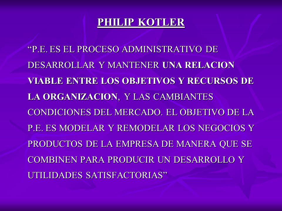 PHILIP KOTLER P.E.