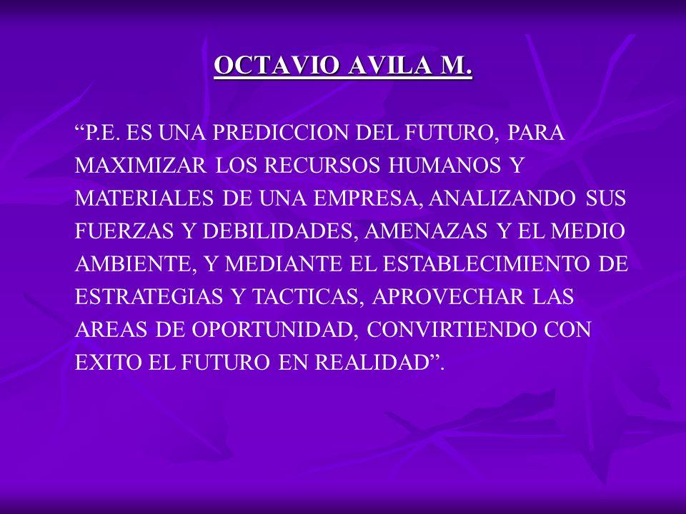 OCTAVIO AVILA M.P.E.