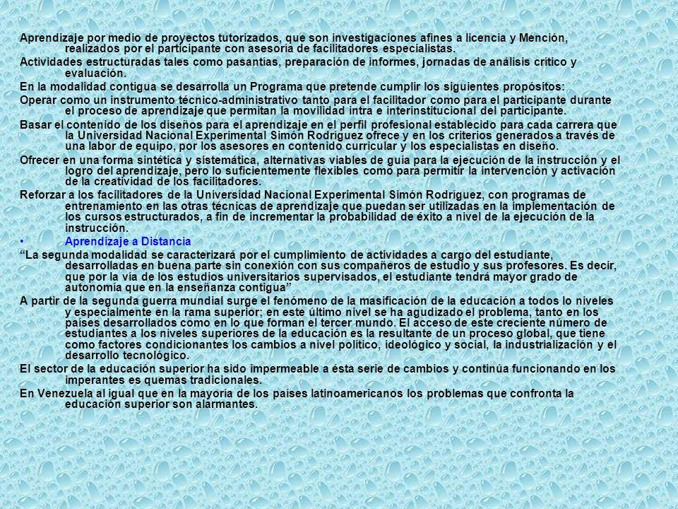 OFERTA ACADÉMICA DE LA UNESR.Licenciatura en Administración, Menciones: Informática.