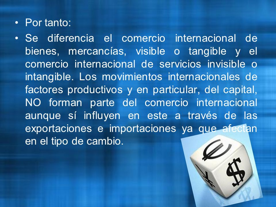 TEORIAS CLASICAS DEL COMERCIO INTERNACIONAL SE REQUIERE MUY POCO, APARTE DE CONDICIONES DE PAZ, BAJOS IMPUESTOS Y UNA TORELABLE ADMINISTRACION DE JUSTICIA, PARA QUE UN PAIS SE DESARROLLE DES DE UN ESTADO DE BARBARIE HASTA EL GRAFO MAS ALTO DE OPULENCIA