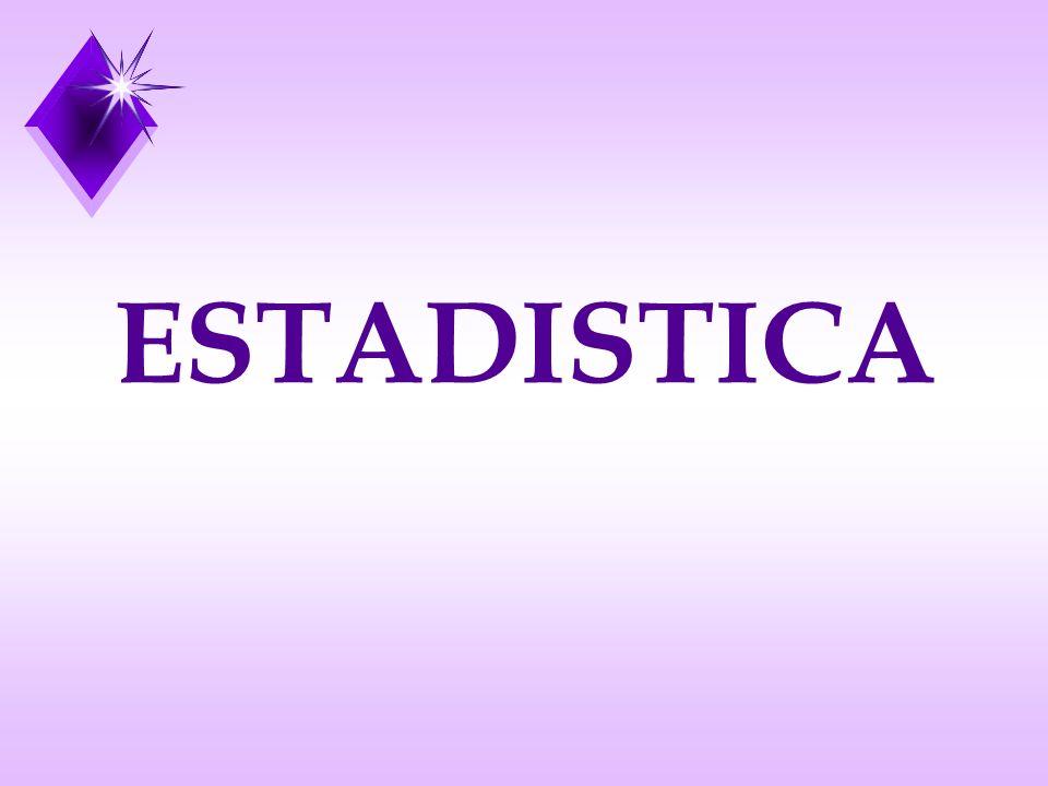 DEFINICIONES La Estadística es una Ciencia derivada de la Matemática que estudia los métodos científicos para recoger, organizar, resumir y analizar datos, así como para sacar conclusiones válidas y tomar decisiones razonables basadas con tal análisis Ciencia que se ocupa del estudio de fenómenos de tipo genérico, normalmente complejos y enmarcados en un universo variable, mediante el empleo de modelos de reducción de la información y de análisis de validación de los resultados en términos de representatividad.