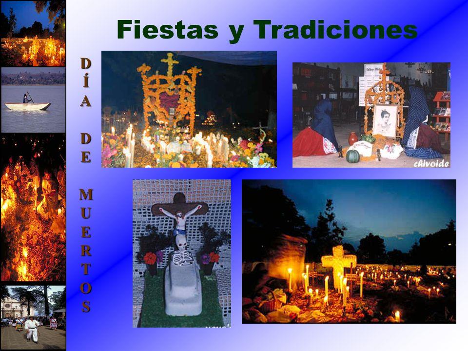 Fiestas y Tradiciones DÍADEMUERTOS