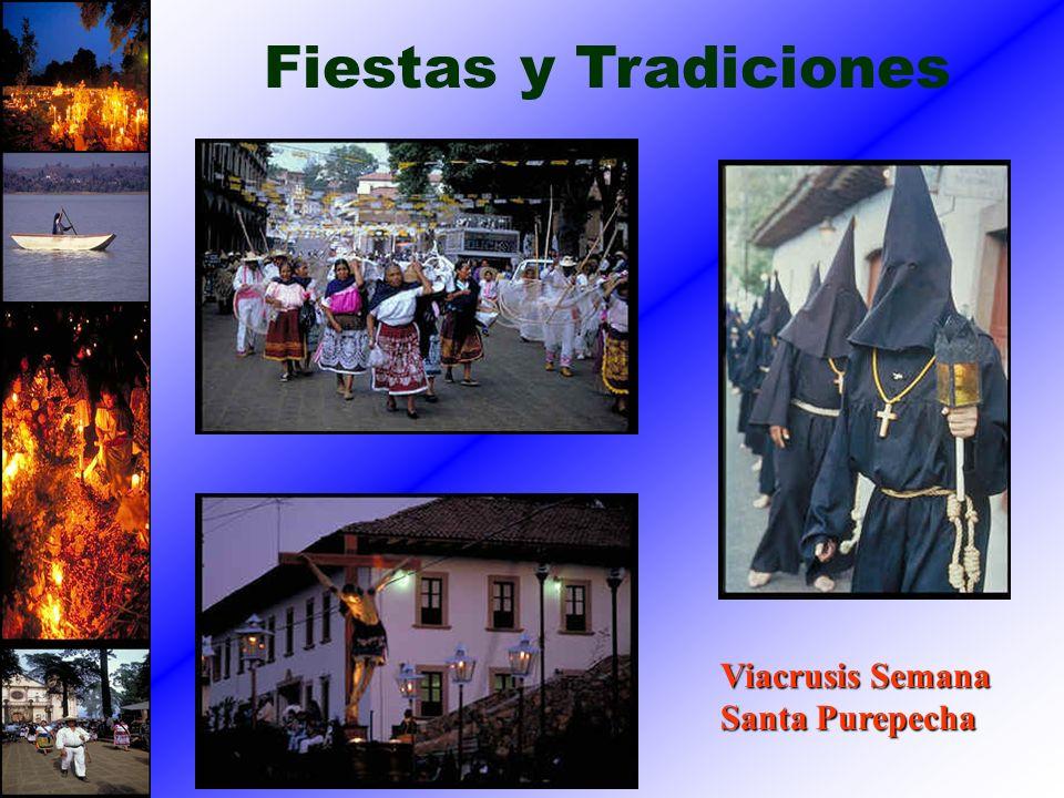 Viacrusis Semana Santa Purepecha