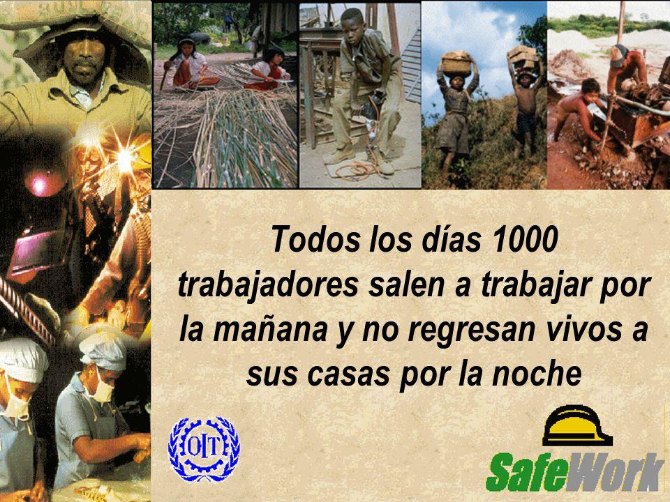 Todos los días 1000 trabajadores salen a trabajar por la mañana y no regresan vivos a sus casas por la noche