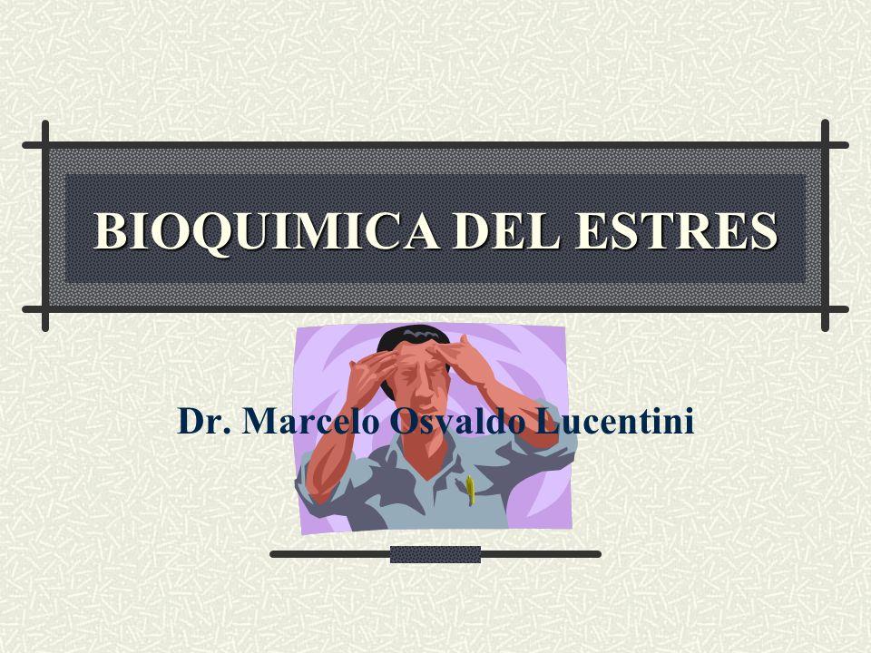 ¿Qué es el estrés?: Dice el diccionario (Stedman): El estrés involucra todas aquellas reacciones del organismo ante situaciones que tiendan a perturbar el equilibrio fisiológico normal ú homeostasis…
