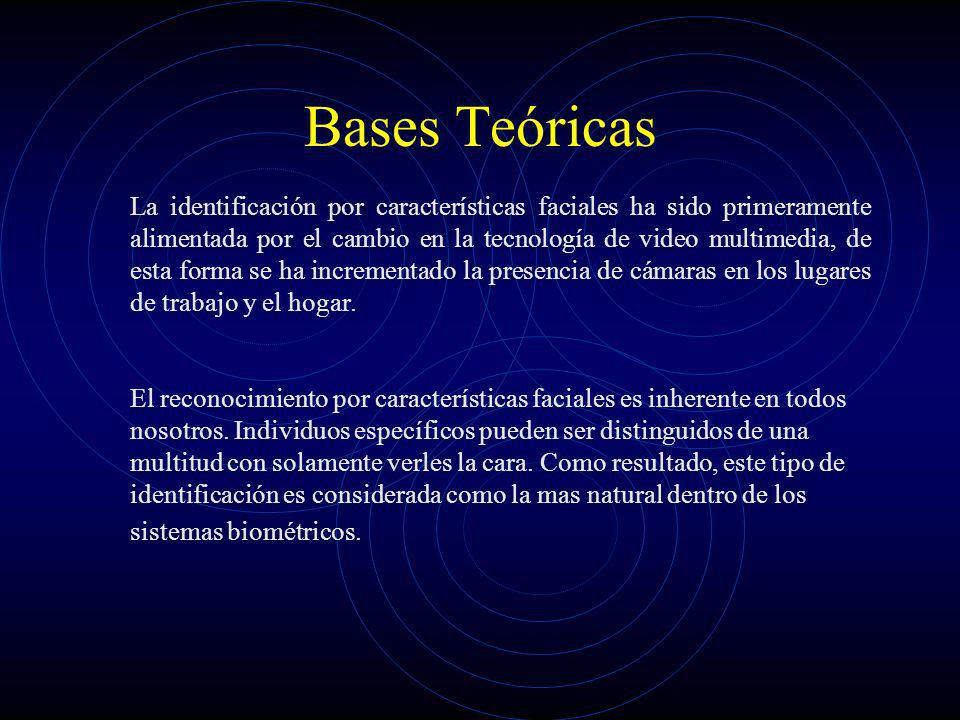 Bases Teoricas Lo sistemas de reconocimiento facial están englobados dentro de las técnicas FRT (Face Recognition Thecniques).