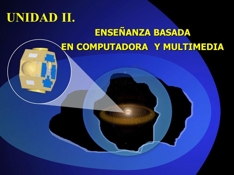 ENSEÑANZA BASADA EN COMPUTADORA Y MULTIMEDIA UNIDAD II.