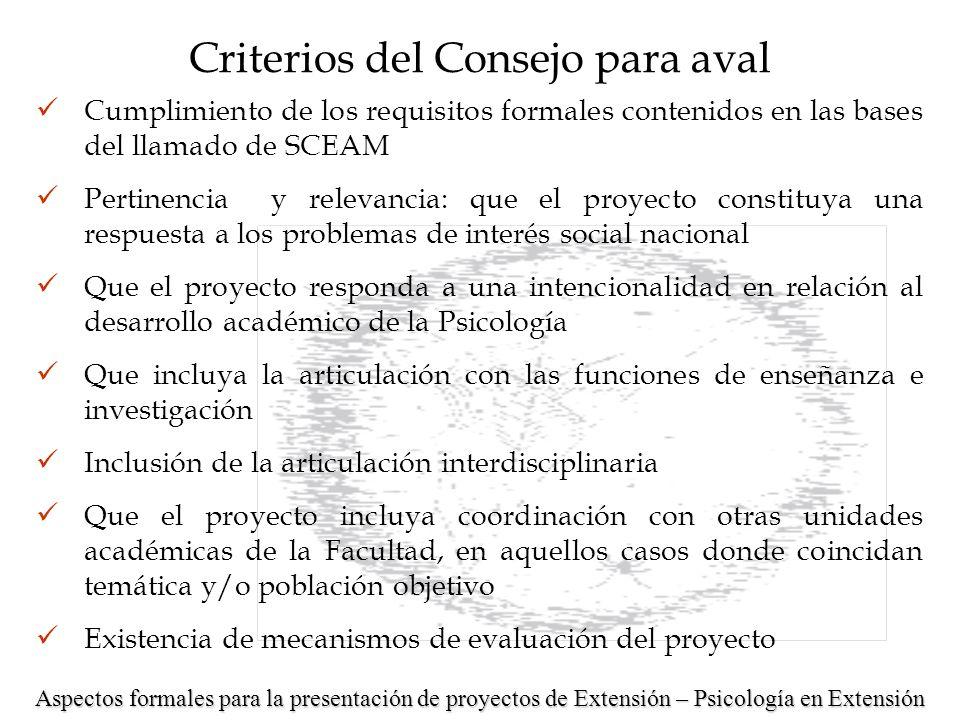 LLAMADO 2007 PROYECTOS DE INTEGRACIÓN INTERDISCIPLINARIA Educación Sustentable.