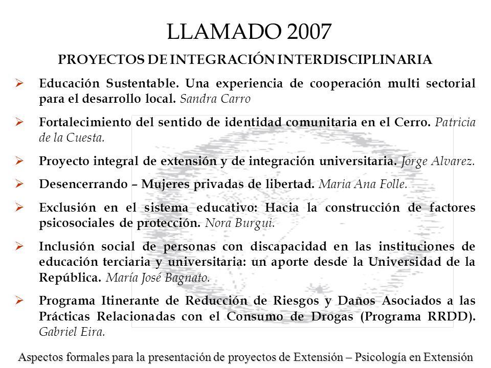 PROYECTOS DE INICIACIÓN Y DESARROLLO Taller de reflexión: hacia la protección de la salud de los trabajadores y sus familias.