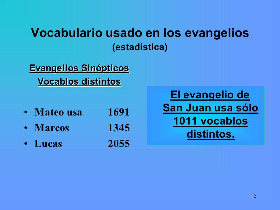 11 La cuestión del lenguaje Aunque al cuarto evangelio siempre se le ha considerado como el texto más teológico y profundo de los evangelios. Sin emba
