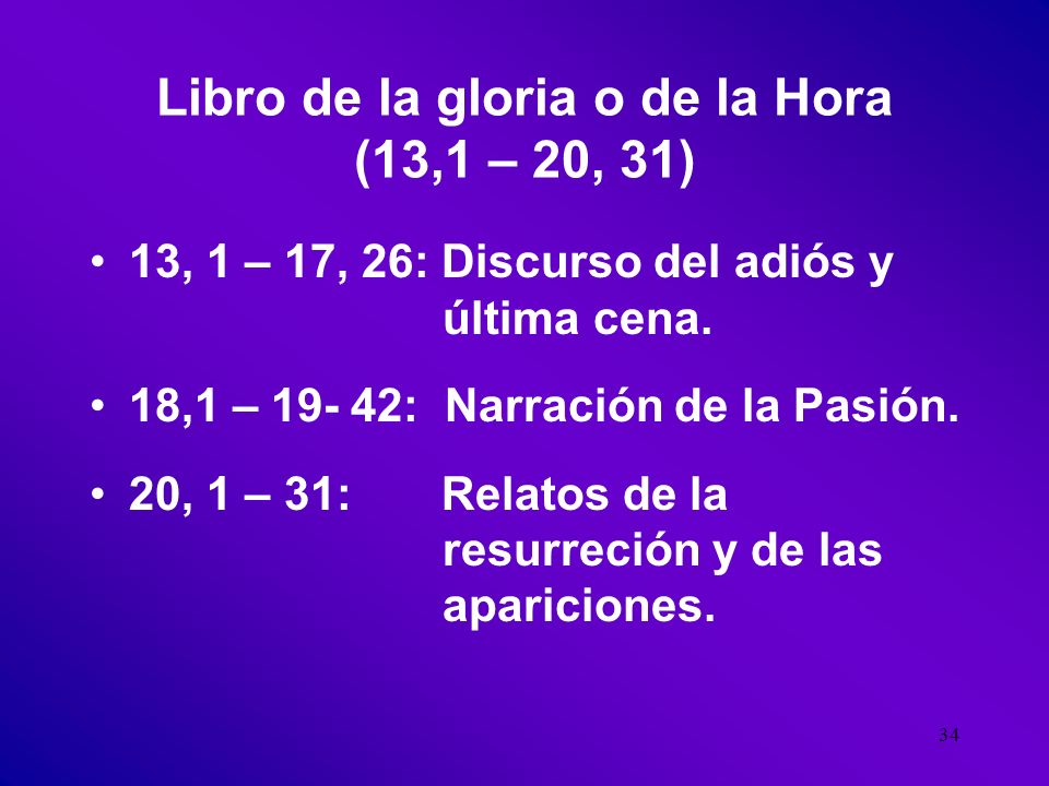 33 LIBRO DE LOS SIGNOS, Ministerio público de Jesus. (Jn 2,1 – 12, 50) Los siete Signos: 1.Curación del hijo del Centurión.* 2.La multiplicación de lo