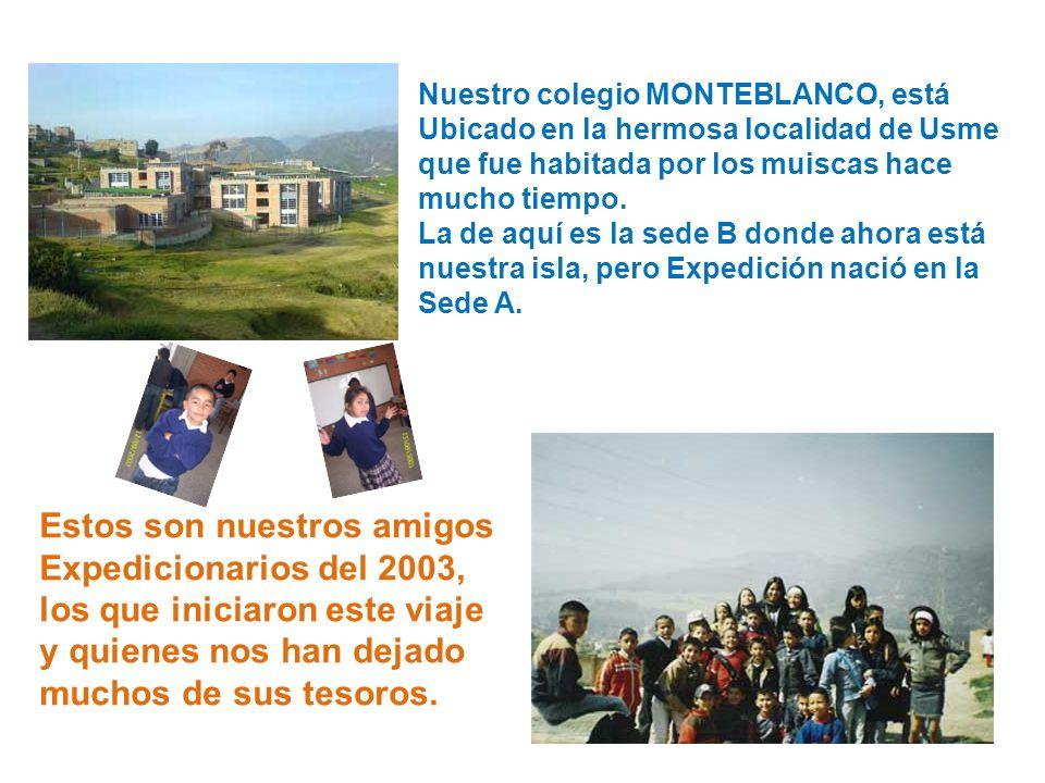 Nuestro colegio MONTEBLANCO, está Ubicado en la hermosa localidad de Usme que fue habitada por los muiscas hace mucho tiempo.