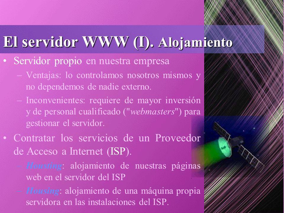 El servidor WWW (I).