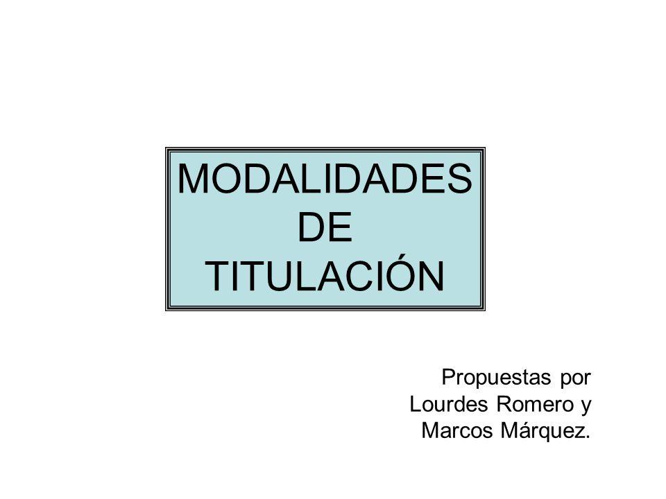 1.Titulación con la elaboración de material didáctico.