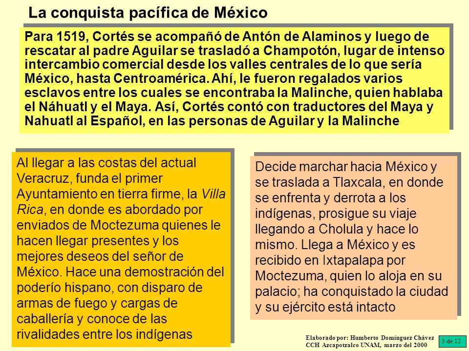 Para 1519, Cortés se acompañó de Antón de Alaminos y luego de rescatar al padre Aguilar se trasladó a Champotón, lugar de intenso intercambio comercial desde los valles centrales de lo que sería México, hasta Centroamérica.