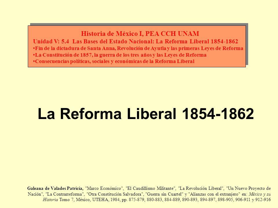 En la primera mitad del siglo XIX se creyó firmemente que México era un país inmensamente rico; la idea fue difundida por diversos estudiosos encabezados por Alejandro von Humboldt; sin embargo, la guerra de independencia acabó con la prosperidad económica, real o ficticia, de la Nueva España.