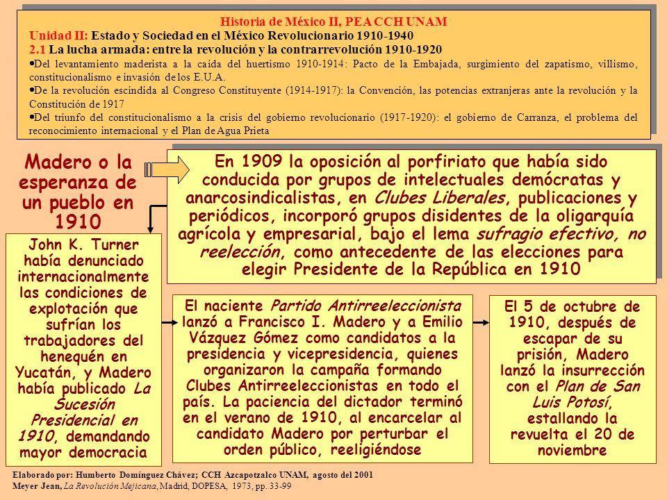 En 1909 la oposición al porfiriato que había sido conducida por grupos de intelectuales demócratas y anarcosindicalistas, en Clubes Liberales, publica