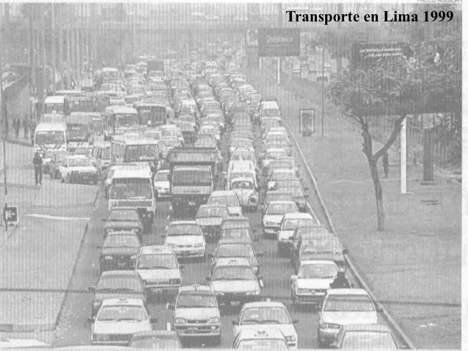 Transporte en Lima 1999