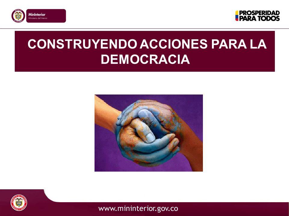 MI TERRITORIO, MI RESPONSABILIDAD El Estado El Estado Social de Derecho Garantías y Libertades Individuales Gestión Pública Descentralización Problemáticas Colombianas Sistema político Democrático desde la perspectiva de los Derechos Humanos
