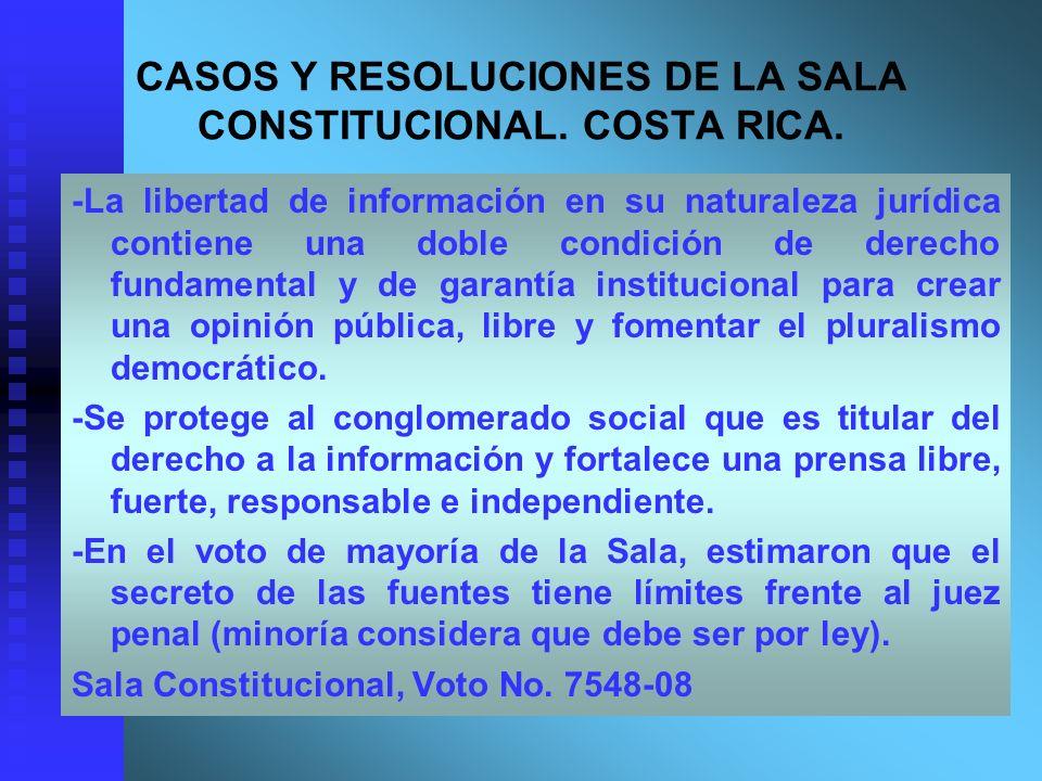 -La libertad de información en su naturaleza jurídica contiene una doble condición de derecho fundamental y de garantía institucional para crear una o