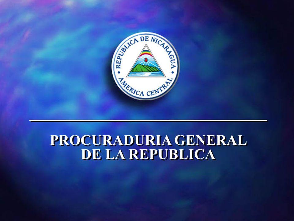 PROCURADURIA GENERAL DE LA REPUBLICA PROCURADURIA GENERAL DE LA REPUBLICA