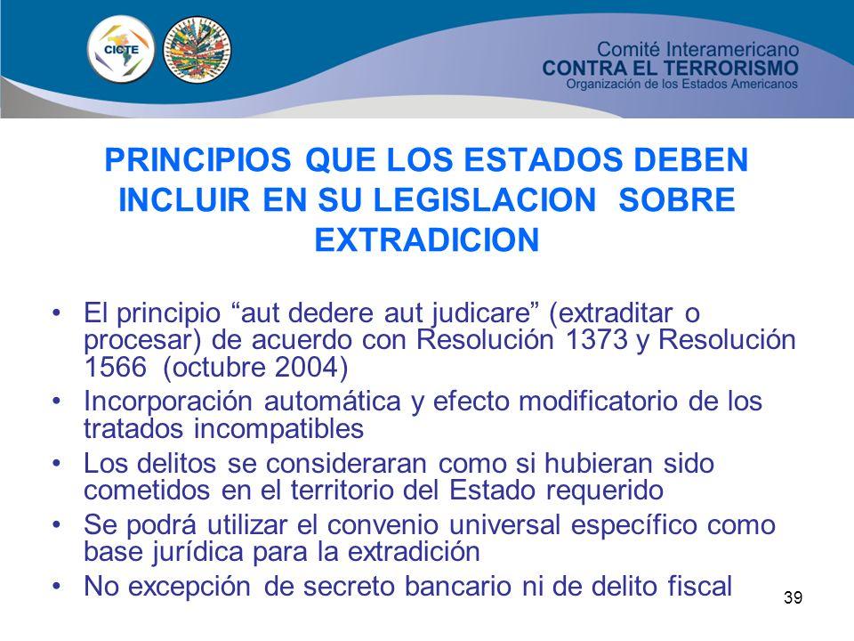 38 OBLIGACION DE LEGISLAR PARA LA NO APLICACION DE LA EXCEPCION DE DELITO POLITICO EN LA EXTRADICION Y LA ASISTENCIA JURIDICA MUTUA (Artículo 11) El a