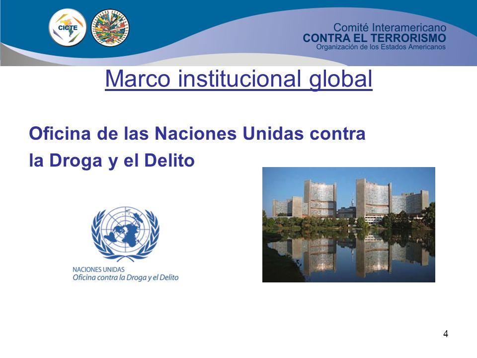3 Marco institucional global