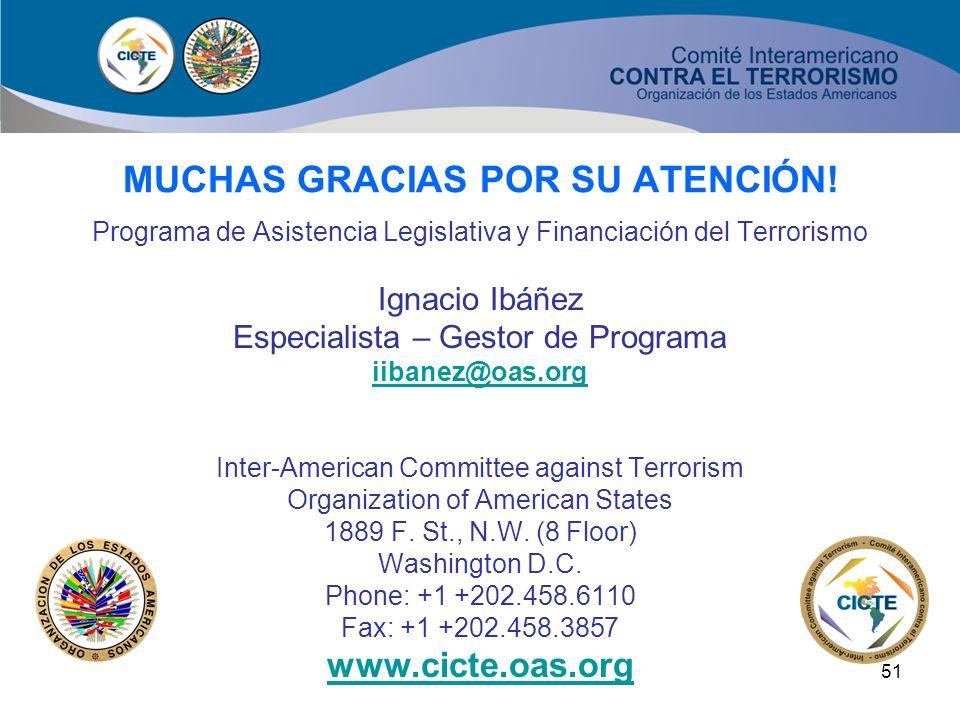 50 DERECHOS HUMANOS (Artículos 14 y 15) Primer instrumento internacional contra el terrorismo que específicamente establece el respeto a los derechos