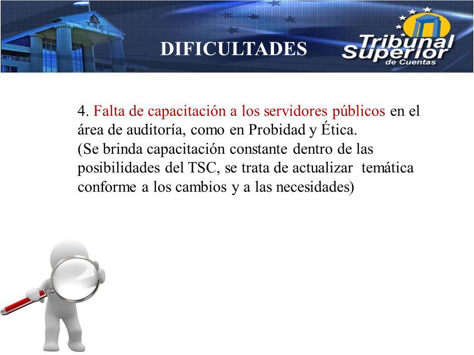 DIFICULTADES 3.