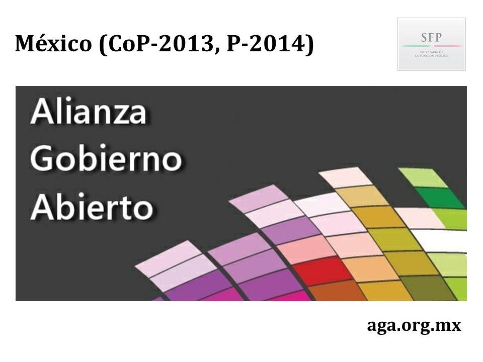 aga.org.mx México (CoP-2013, P-2014)