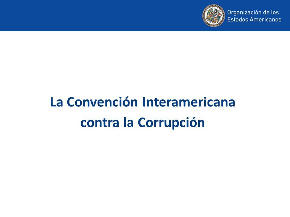 Disposiciones de la Convención cuya implementación se está analizando: – CUARTA RONDA Artículo III, párrafo 9 (órganos de control superior).