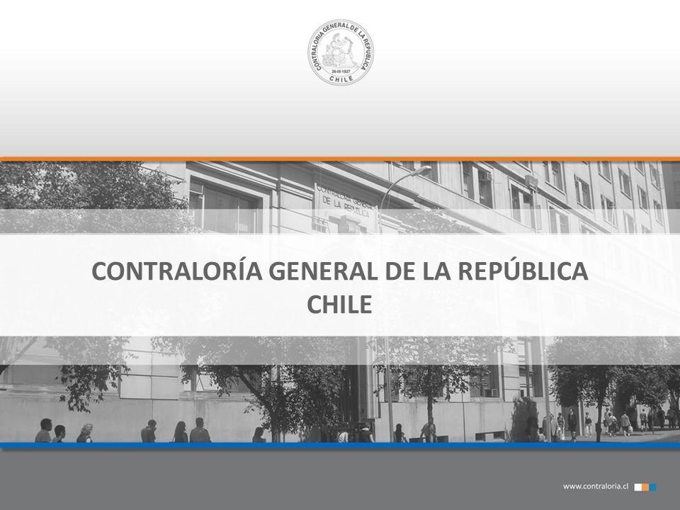 CONTRALORÍA GENERAL DE LA REPÚBLICA CHILE