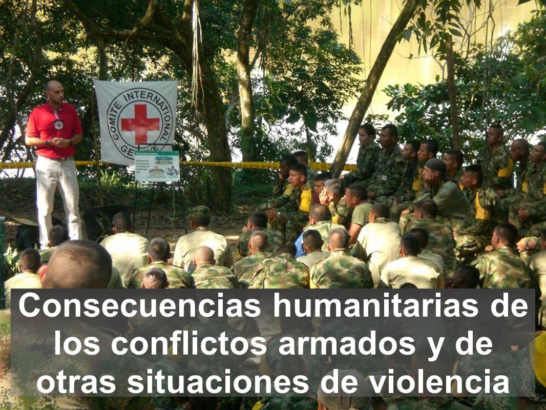 Consecuencias humanitarias de los conflictos armados y de otras situaciones de violencia