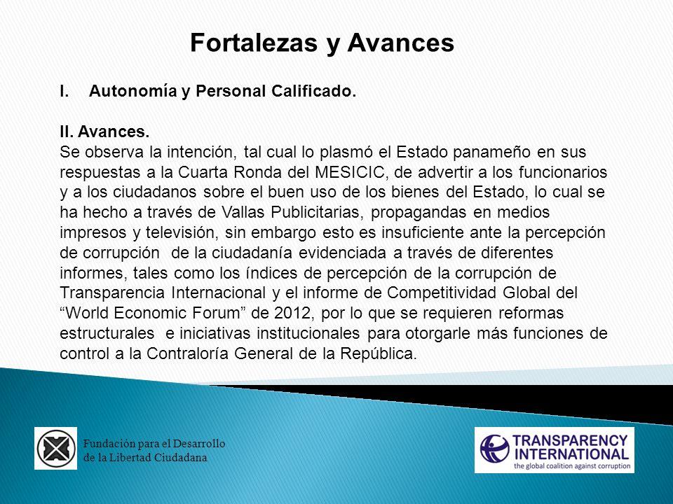 Fundación para el Desarrollo de la Libertad Ciudadana La Estrella de Panamá, 7 de agosto de 2012.